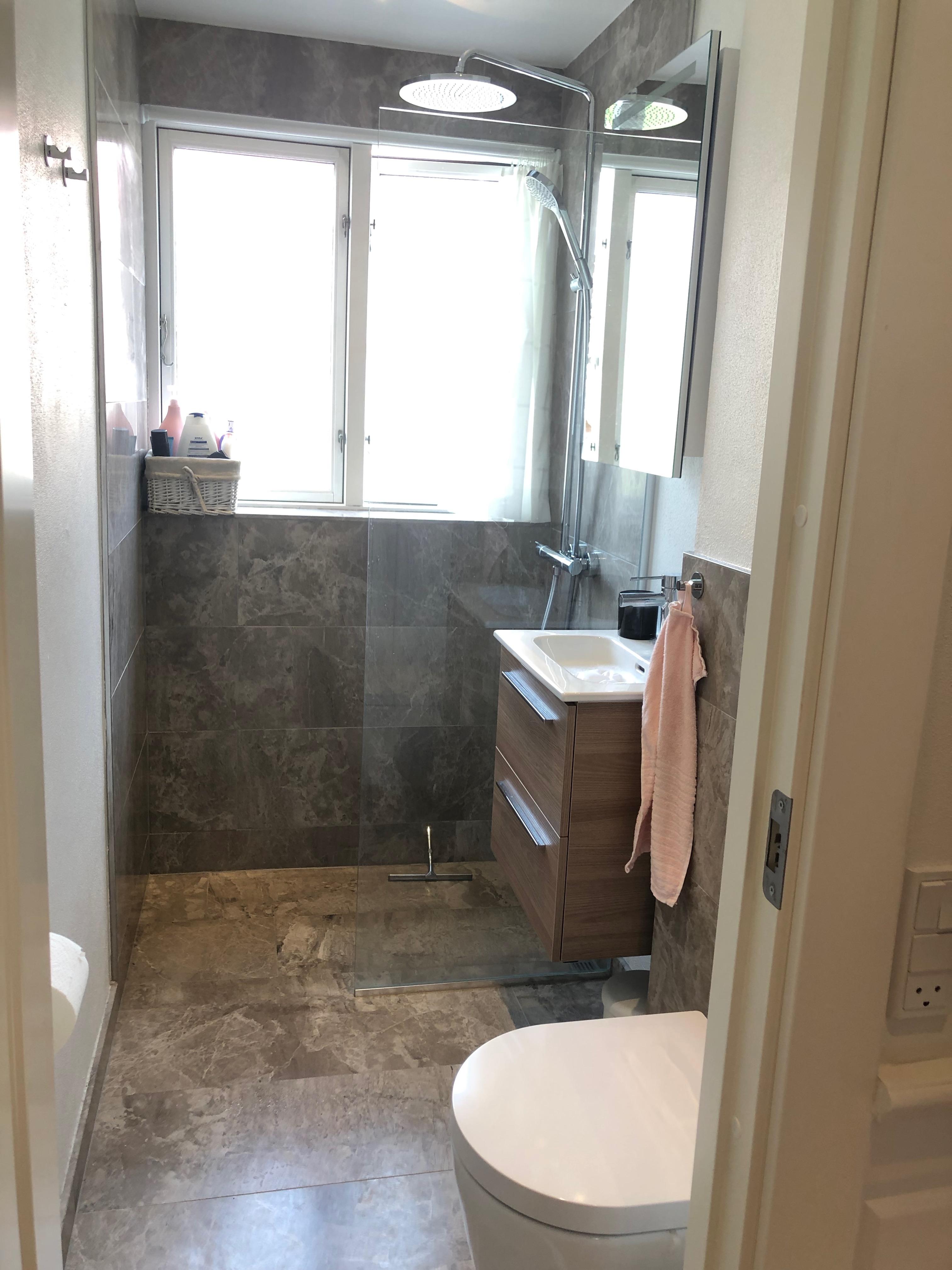 Total renovering af badeværelse på Østerbro